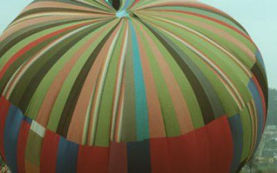 Fluchtballon Startversuch am 3.10.1990
