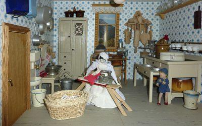 Puppenhaus - Hauswirtschaftsraum