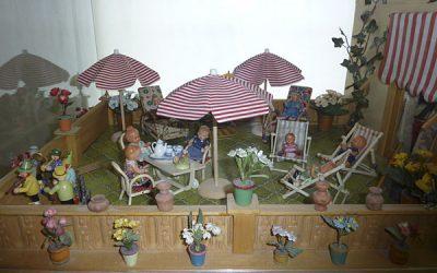 Puppenhaus - Terrasse
