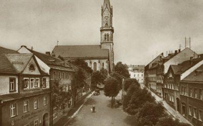 Naila Luitpoldplatz / ev. Kirche