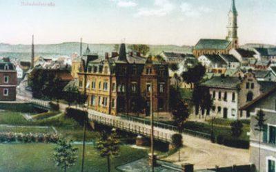 Naila Bahnhofstraße um 1910
