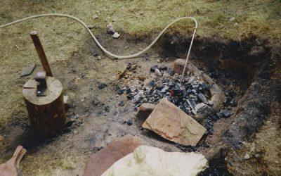 Rennofen - Nach dem Brennen