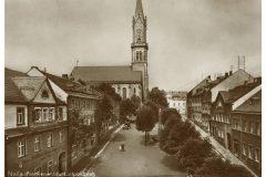 Naila - Luitpoldplatz und Stadtkirche