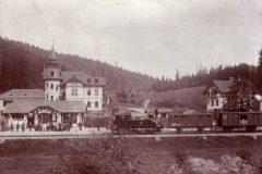 Hotel König David und Bahnhof Hölle