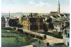 Naila - Bahnhofstraße um 1910