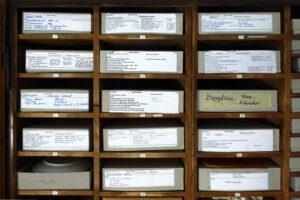 Archivschrank - Detail