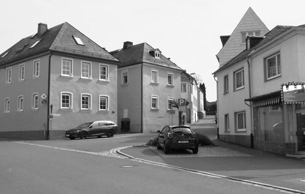 """Marlesreuther Weg/Ecke Hofer Straße - ehemals """"Gänsmarkt"""""""