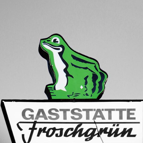 """Gaststätte """"Froschgrün"""""""